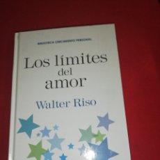 Libros de segunda mano: WALTER RISO, LOS LÍMITES DEL AMOR. Lote 173870693