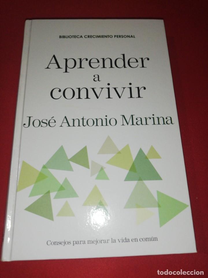 JOSÉ ANTONIO MARINA, APRENDER A CONVIVIR (Libros de Segunda Mano - Pensamiento - Psicología)