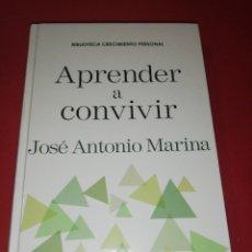 Libros de segunda mano: JOSÉ ANTONIO MARINA, APRENDER A CONVIVIR. Lote 173871440