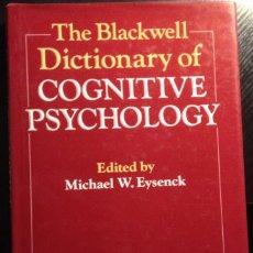 Libros de segunda mano: THE BLACKWELL DICTIONARY OF COGNITIVE PSYCHOLOGY.. Lote 173758923