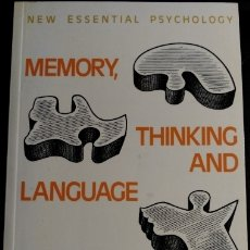 Libros de segunda mano: MEMORY, THINKING AND LANGUAGE. TOPICS IN COGNITIVE PSYCHOLOGY. - GREENE, JUDITH.. Lote 173709975