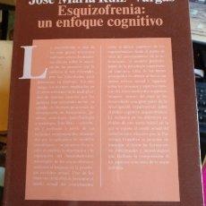 Livres d'occasion: ESQUIZOFRENIA: UN ENFOQUE COGNITIVO. - RUIZ VARGAS, JOSE MARIA.. Lote 173747392