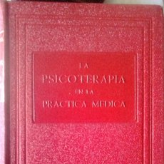 Libros de segunda mano: VIKTOR E. FRANKL - LA PSICOTERAPIA EN LA PRÁCTICA MÉDICA. Lote 175195198