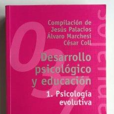 Libros de segunda mano: DESARROLLO PSICOLÓGICO Y EDUCACIÓN I 1 PSICOLOGÍA EVOLUTIVA - ALIANZA EDITORIAL MANUALES 037. Lote 175325057