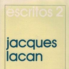 Libros de segunda mano: JACQUES LACAN, ESCRITOS 2. SIGLO XXI EDITORES 1991. Lote 175522889