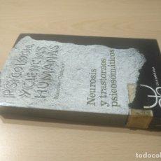Libros de segunda mano: NEUROSIS Y TRASTORNOS PSICOSOMATICOS - MAURICE DONGIER - EDICIONES GUADARRAMA/ TEXTO 43. Lote 176482662