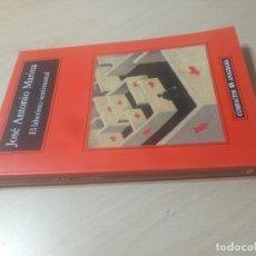 Libros de segunda mano: EL LABERINTO SENTIMENTAL - JOSE ANTONIO MARINA - ANAGRAMA/ TEXTO 43. Lote 176482929