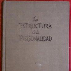 Libros de segunda mano: PHILIPP LERSCH . LA ESTRUCTURA DE LA PERSONALIDAD. Lote 176355109