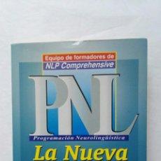 Libros de segunda mano: PNL LA NUEVA TECNOLOGÍA DEL ÉXITO. Lote 177592208