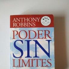Libros de segunda mano: PODER SIN LIMITES, ANTHONY ROBBINS, DE BOLSILLO (MEXICO), AÑO 2007, 393 PAGINAS, TAPA BLANDA. Lote 177646120