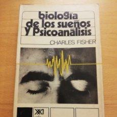 Libros de segunda mano: BIOLOGÍA DE LOS SUEÑOS Y PSICOANÁLISIS (CHARLES FISHER). Lote 177955103