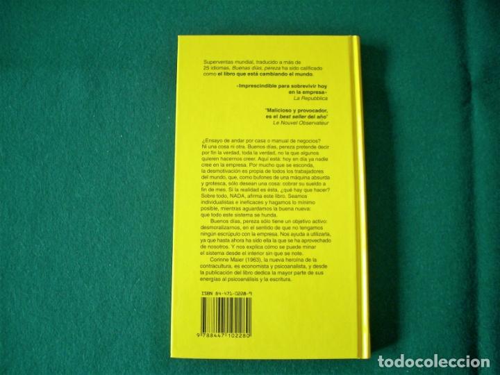 Libros de segunda mano: BUENOS DÍAS, PEREZA - BIBLIOTECA DE CRECIMIENTO PERSONAL - CORINNE MAIER - SALVAT - 1º EDICIÓN 2004 - Foto 3 - 178004037