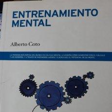 Libros de segunda mano: ENTRENAMIENTO MENTAL. ALBERTO COTO.. Lote 178048112