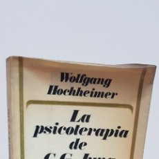 Libros de segunda mano: LA PSICOTERAPIA DE C. G. JUNG - WOLFGANG HOCHHEIMER - HERDER. Lote 178703302