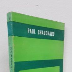 Libros de segunda mano: LA QUÍMICA DEL CEREBRO - PAUL CHAUCHARD - PAIDÓS - BIBLIOTECA DEL HOMBRE CONTEMPORÁNEO, 37. Lote 178704115