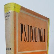 Libros de segunda mano: PSICOLOGÍA - SMIRNOV, LEONTIEV Y OTROS - EDICIONES GRIJALBO - TRATADOS Y MANUALES. Lote 178705758