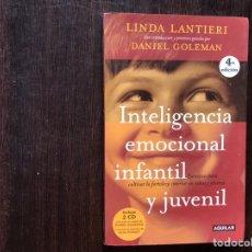 Libros de segunda mano: INTELIGENCIA EMOCIONAL INFANTIL Y JUVENIL. SIN CD'S.. Lote 178915987