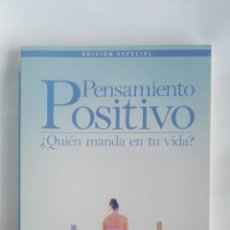 Libros de segunda mano: PENSAMIENTO POSITIVO ¿QUIÉN MANDA EN TU VIDA?. Lote 180112638