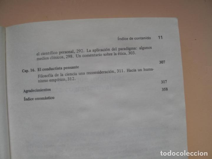 Libros de segunda mano: COGNICIÓN Y MODIFICACIÓN DE CONDUCTA.- MICHAEL J. MAHONEY.- TRILLAS.MÉXICO.1983 - Foto 7 - 180250702