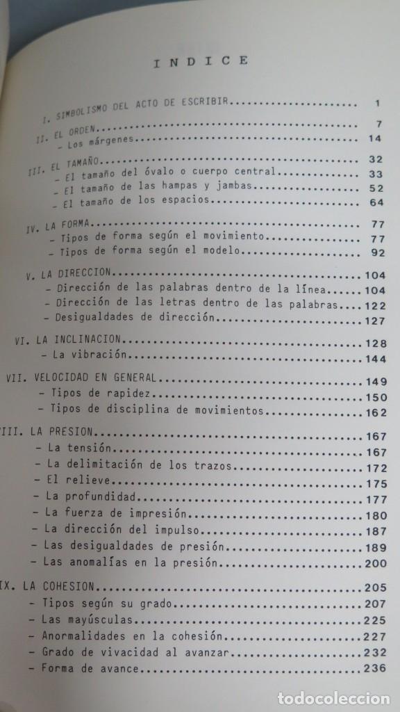 Libros de segunda mano: APUNTES DE GRAFOPSICOLOGIA. ALLENDE DEL CAMPO - Foto 2 - 180269846