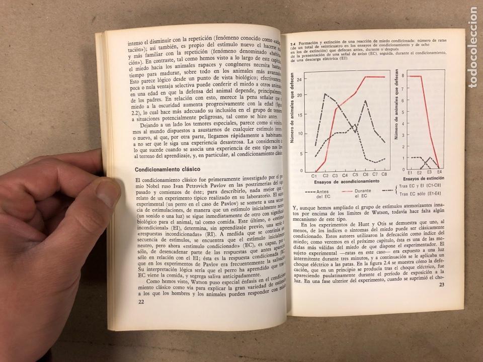 Libros de segunda mano: LA PSICOLOGÍA DEL MIEDO. JEFFREY A. GRAY. EDICIONES GUADARRAMA 1971. ILUSTRADO. 255 PÁGINAS. - Foto 4 - 180274195