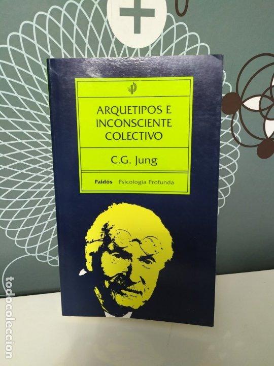 C.G. JUNG ARQUETIPOS E INCONSCIENTE COLECTIVO (Libros de Segunda Mano - Pensamiento - Psicología)