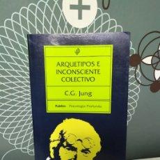 Libros de segunda mano: C.G. JUNG ARQUETIPOS E INCONSCIENTE COLECTIVO. Lote 180276473
