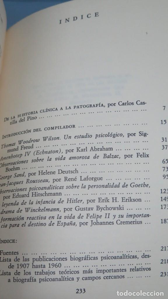 Libros de segunda mano: NEUROSIS Y GENIALIDAD. BIOGRAFIAS PSICOANALITICAS - Foto 2 - 180277440