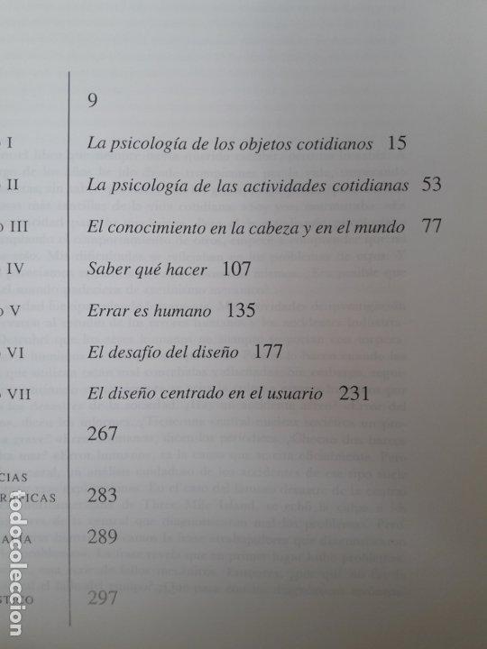 Libros de segunda mano: La psicología de los objetos cotidianos Norman, Donald, ed. NEREA Raro - Foto 3 - 180341803