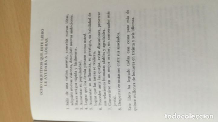 Libros de segunda mano: COMO GANAR AMIGOS E INFLUIR SOBRE LAS PERSONAS - DALE CARNEGIE / 71-72 AB - Foto 6 - 180422342