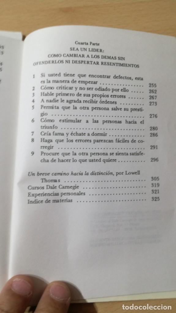 Libros de segunda mano: COMO GANAR AMIGOS E INFLUIR SOBRE LAS PERSONAS - DALE CARNEGIE / 71-72 AB - Foto 17 - 180422342