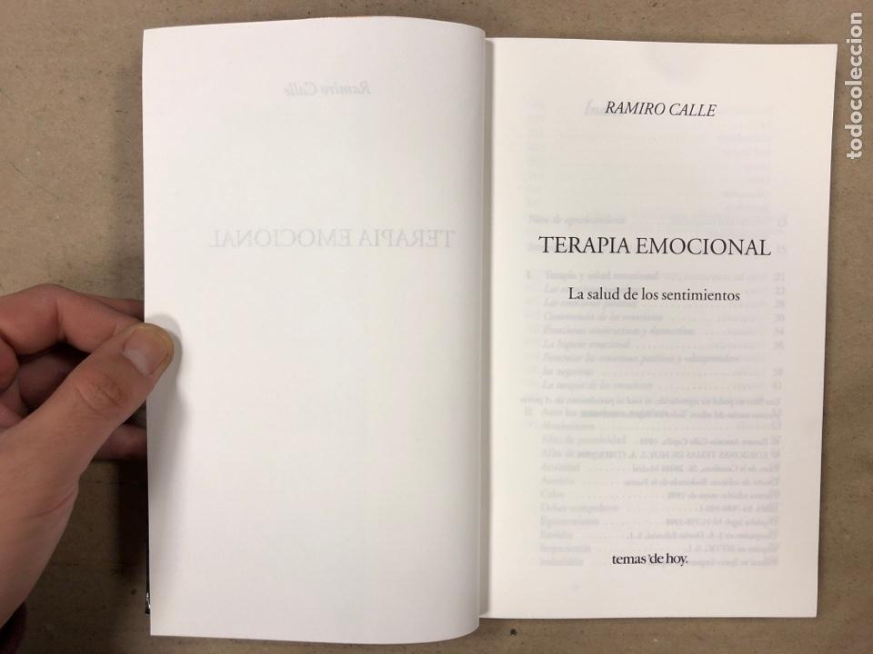Libros de segunda mano: TERAPIA EMOCIONAL, LA SALUD DE LOS SENTIMIENTOS. RAMIRO CALLE. EDICIONES TEMAS DE HOY 1998 - Foto 2 - 180426868