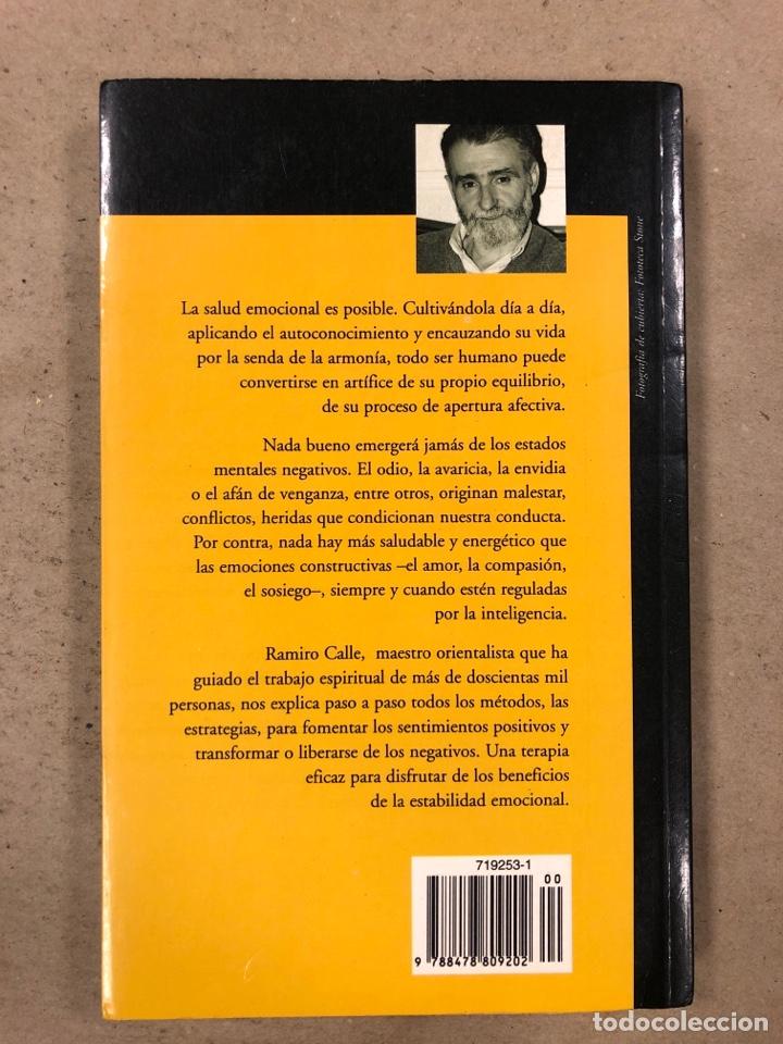 Libros de segunda mano: TERAPIA EMOCIONAL, LA SALUD DE LOS SENTIMIENTOS. RAMIRO CALLE. EDICIONES TEMAS DE HOY 1998 - Foto 7 - 180426868