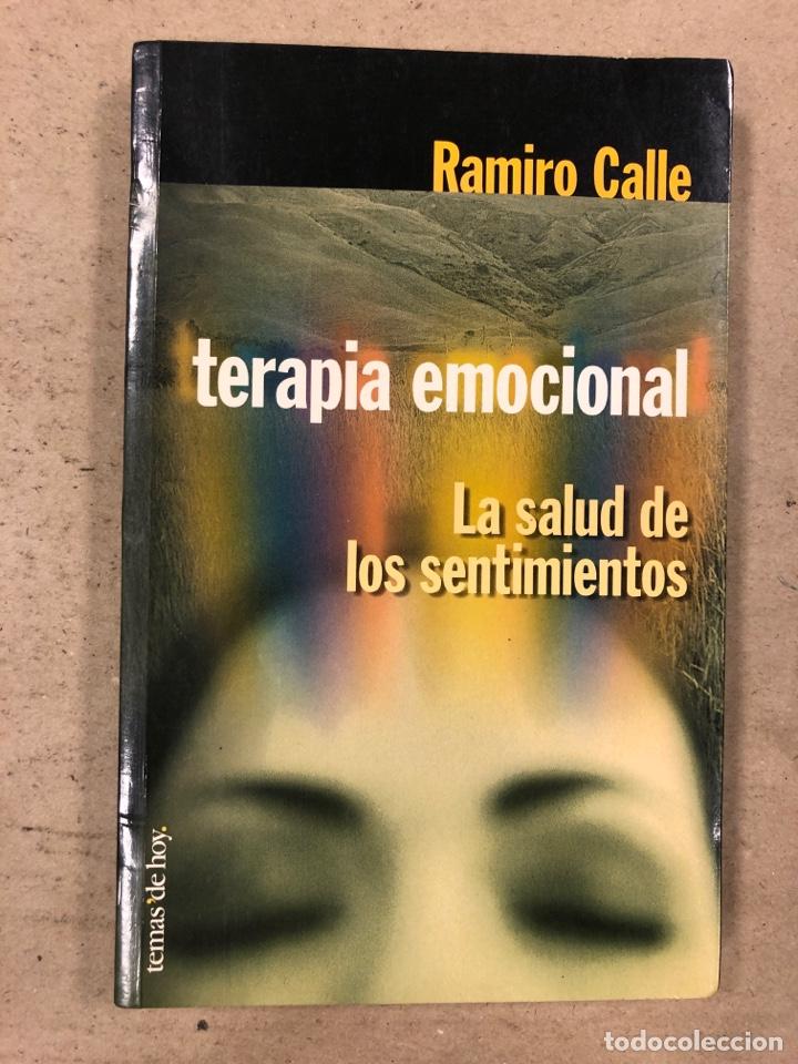 TERAPIA EMOCIONAL, LA SALUD DE LOS SENTIMIENTOS. RAMIRO CALLE. EDICIONES TEMAS DE HOY 1998 (Libros de Segunda Mano - Pensamiento - Psicología)