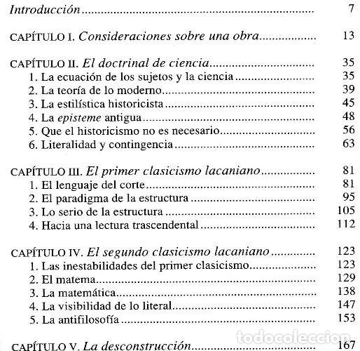 Libros de segunda mano: JEAN CLAUDE LACAN. LA OBRA CLARA. LACAN. LA CIENCIA. LA FILOSOFIA. PSICOLOGIA. - Foto 3 - 180897261