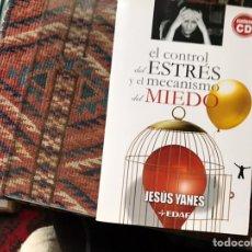 Libros de segunda mano: EL CONTROL DEL ESTRÉS Y EL MECANISMO DEL MIEDO. JESÚS YANES. EDAF. BUEN ESTADO. CD INCLUIDO.. Lote 181445093