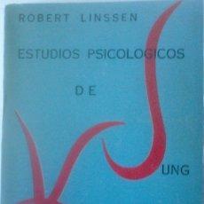 Libros de segunda mano: ROBERT LINSSEN - ESTUDIOS PSICOLOGICOS DE C. G. JUNG HASTA KRISHNAMURTI. Lote 182071526