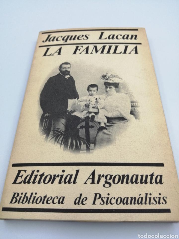 LA FAMILIA. JACQUES LACAN (Libros de Segunda Mano - Pensamiento - Psicología)