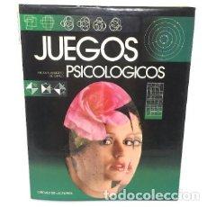 Libros de segunda mano: JUEGOS PSICOLOGICOS TEST DE INTELIGENCIA CÍRCULO DE LECTORES 1988. Lote 182747383
