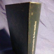 Libros de segunda mano: LA INTERPRETACIÓN DE LOS SUEÑOS. SIGMUND FREUD. Lote 183506832