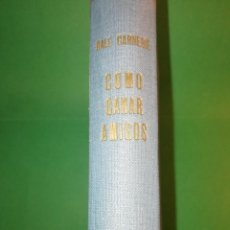 Libros de segunda mano: COMO GANAR AMIGOS E INFLUIR SOBRE LAS PERSONAS DALE CARNEGIE AÑO 1949. Lote 183588610