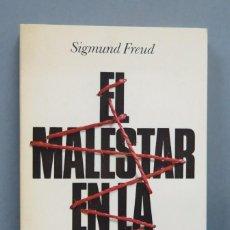 Libros de segunda mano: EL MALESTAR EN LA CULTURA. FREUD. Lote 183619201