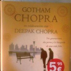 Libros de segunda mano: GOTHAM CHOPRA (CON DEEPAK CHOPRA) - LECCIONES DE FELICIDAD. Lote 183692557