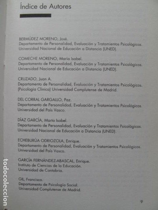 Libros de segunda mano: MANUAL PRÁCTICO DE MODIFICACIÓN DE CONDUCTA - I - M.A. VALLEJO Y OTROS.- FUND. UNIV-EMPRESA. 1993 - Foto 4 - 183828022