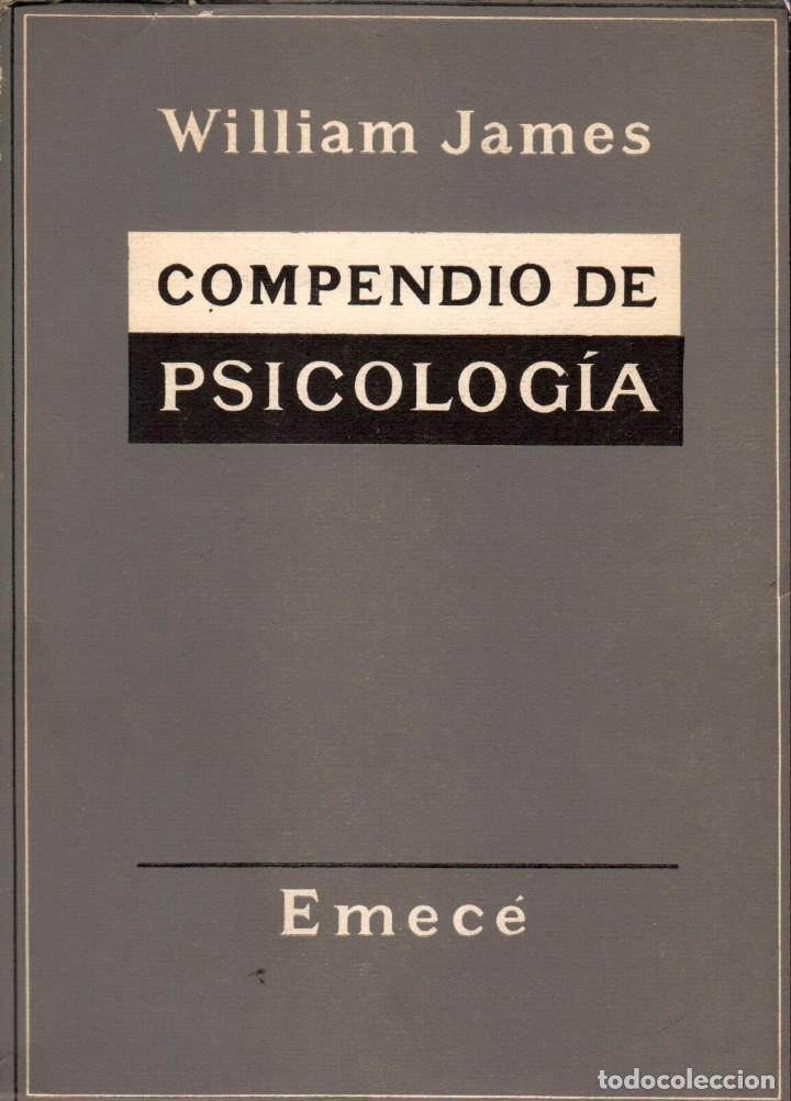 COMPENDIO DE PSICOLOGÍA / WILLIAM JAMES (Libros de Segunda Mano - Pensamiento - Psicología)