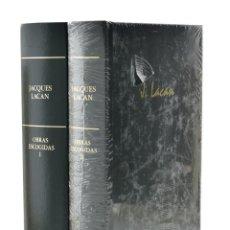 Libros de segunda mano: OBRAS ESCOGIDAS, I Y II (EDICIÓN COMPLETA EN 2 TOMOS) - LACAN, JACQUES. Lote 184005681