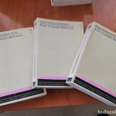 Libros de segunda mano: PSICODIAGNOSTICO COMPLETO 3 TOMOS ROCÍO FERNÁNDEZ BALLESTEROS UNED 1990. Lote 184932416