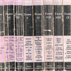 Libros de segunda mano: OBRAS COMPLETAS DE SIGMUND FREUD - 9 TOMOS (BIBLIOTECA NUEVA, 1972). Lote 186154526