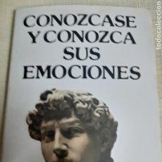 Libros de segunda mano: LIBRO D/L .- CONOZCASE Y CONOZCA SUS EMOCIONES DE DR. KLAUS BERGMAN AÑO 1.988. Lote 186241135