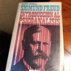 Libros de segunda mano: INTRODUCCIÓN AL PSICOANÁLISIS. SIGMUND FREUD- VOLUMEN DOBLE. Lote 189550820